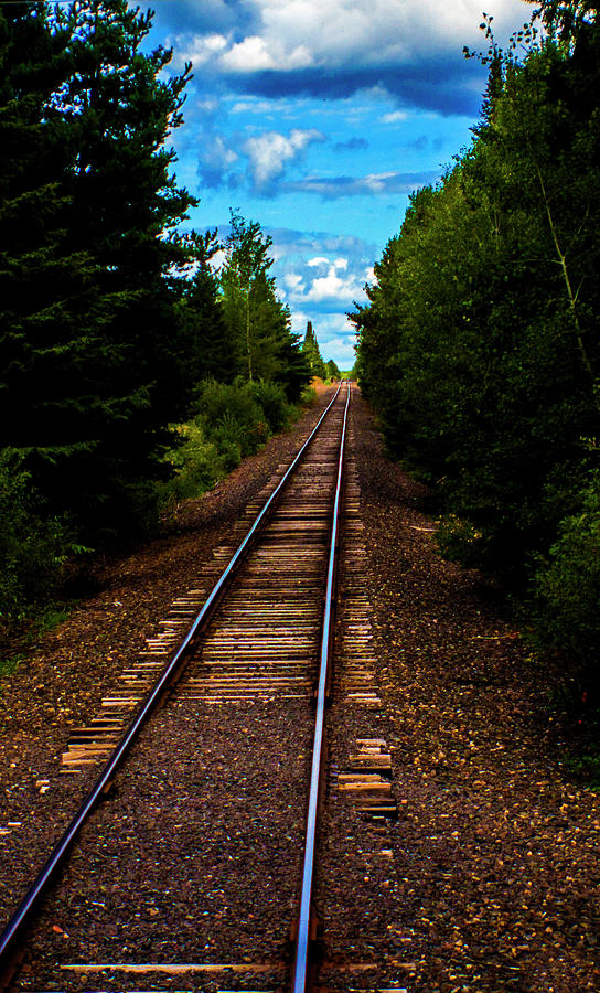 Train tracks by Kevin Banker