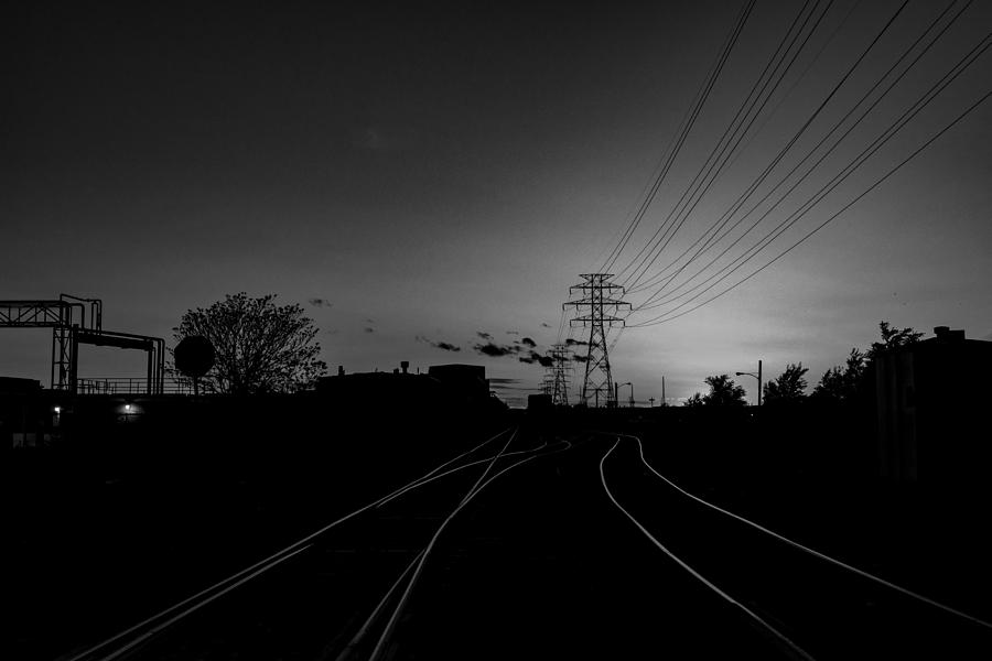 Traintracks by Joseph Amaral