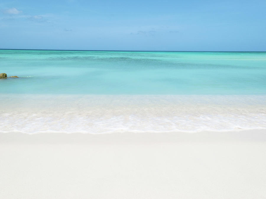 Tranquil Beach Photograph by William Andrew
