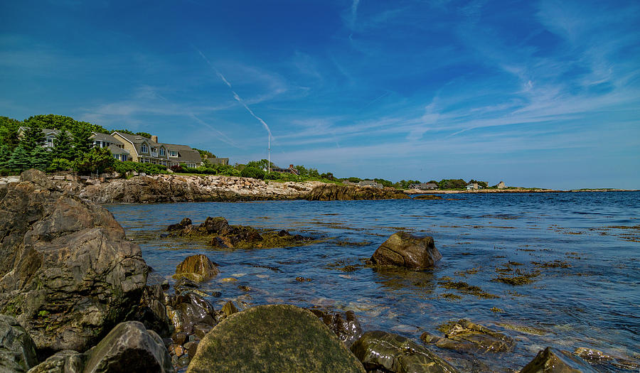 Kennebunkport Photograph - Tranquil Blues Day Kennebunkport by Betsy Knapp