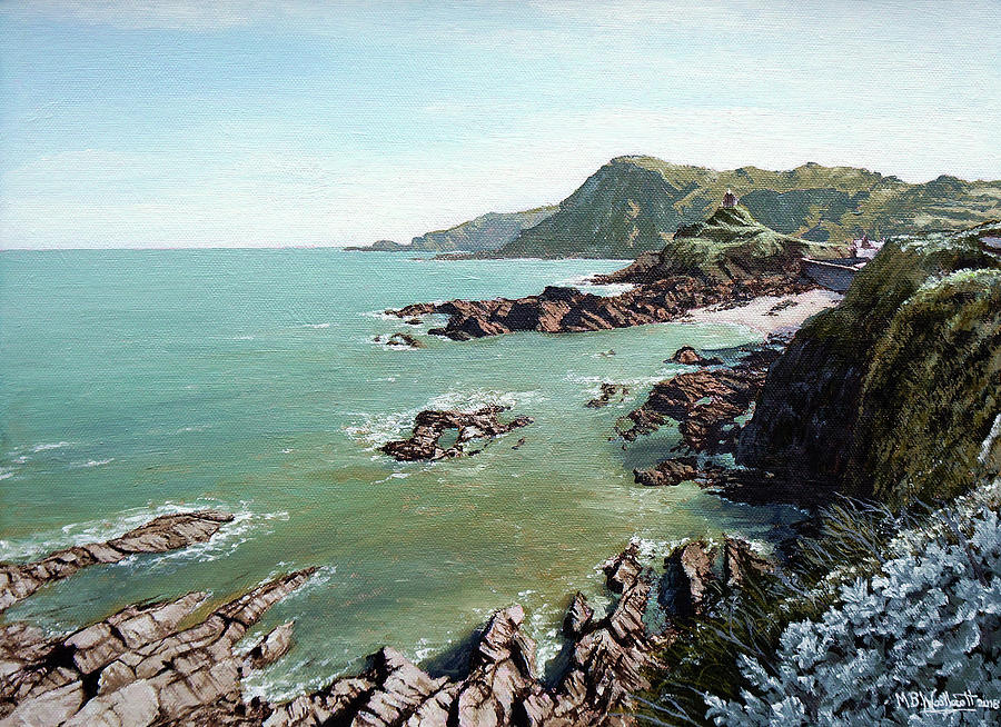 Tranquil Light, Ilfracombe by Mark Woollacott