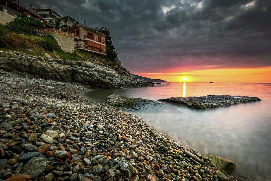 Tranquil Sunrise Photograph