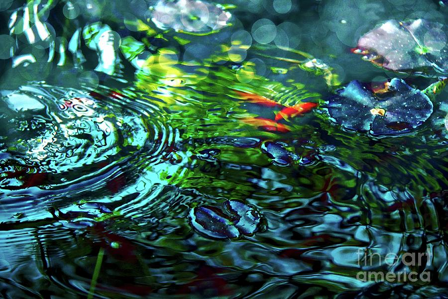 Tranquil water ripples by Jolanta Anna Karolska