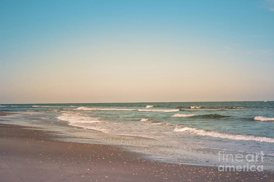Beach Photograph - Tranquil Waves by Colleen Kammerer