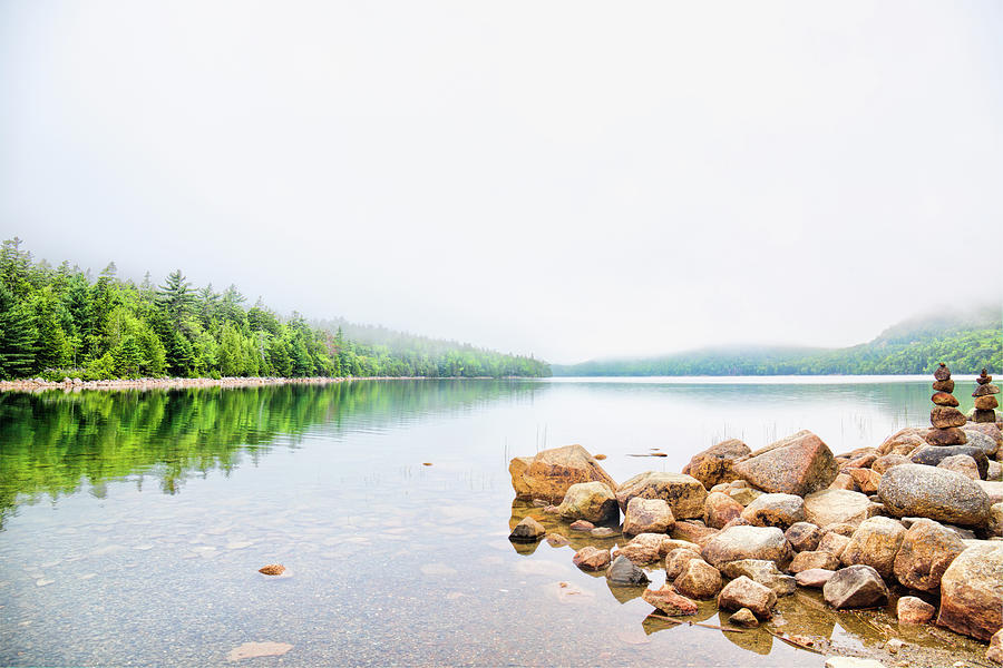 Acadia Photograph - Tranquility by Zev Steinhardt