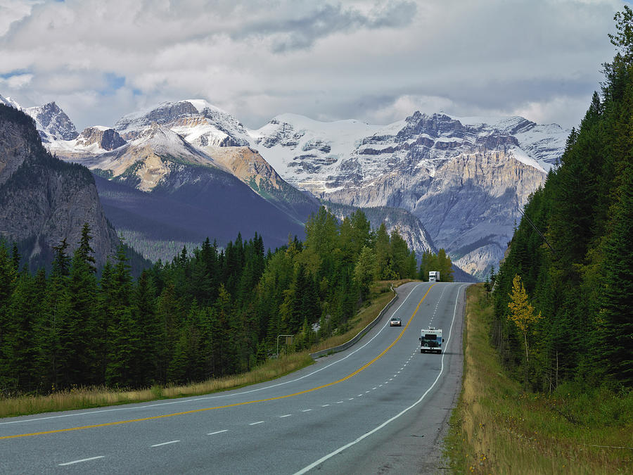 Trans Canada Highway Photograph by Frank J Wicker