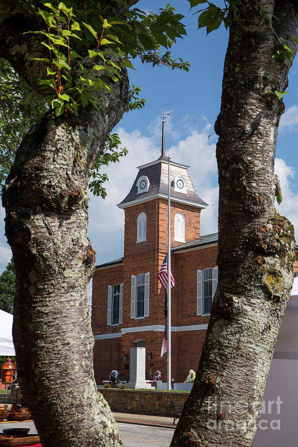 Transylvania County Courthouse in North Carolina by Kevin McCarthy