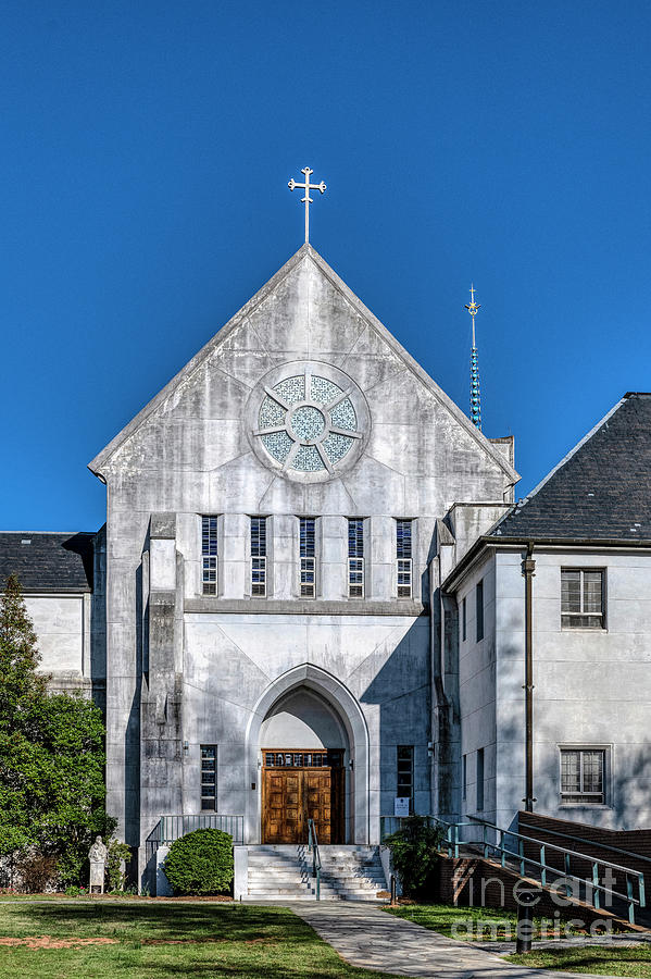 Abbey Photograph - Trappist Monastery Of The Holy Spirit  by John Greim
