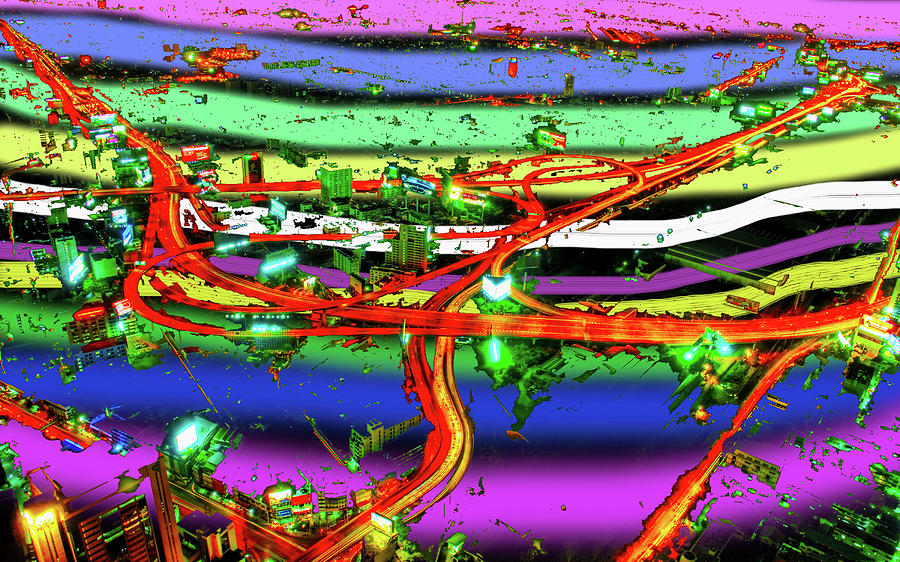 Abstracts Digital Art -  Trashed by Bruce IORIO