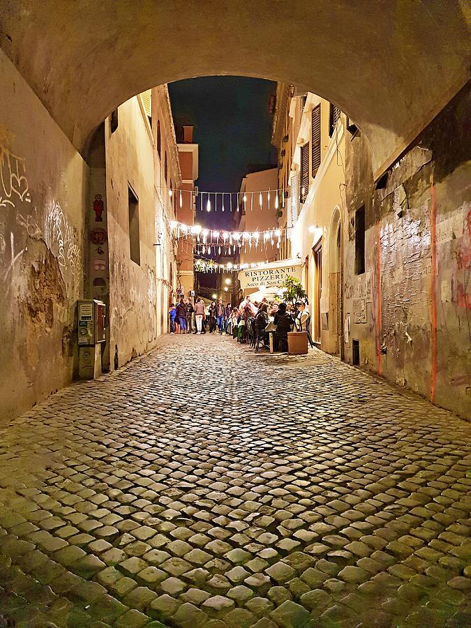 Trastevere Tunnel Street  by Andrea Whitaker