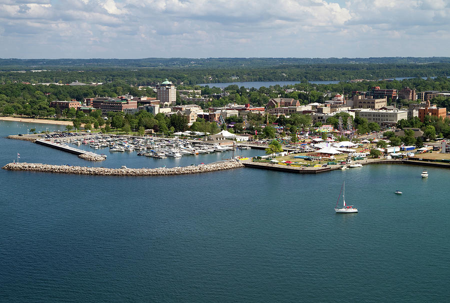 Traverse City, Michigan Photograph by Ct757fan