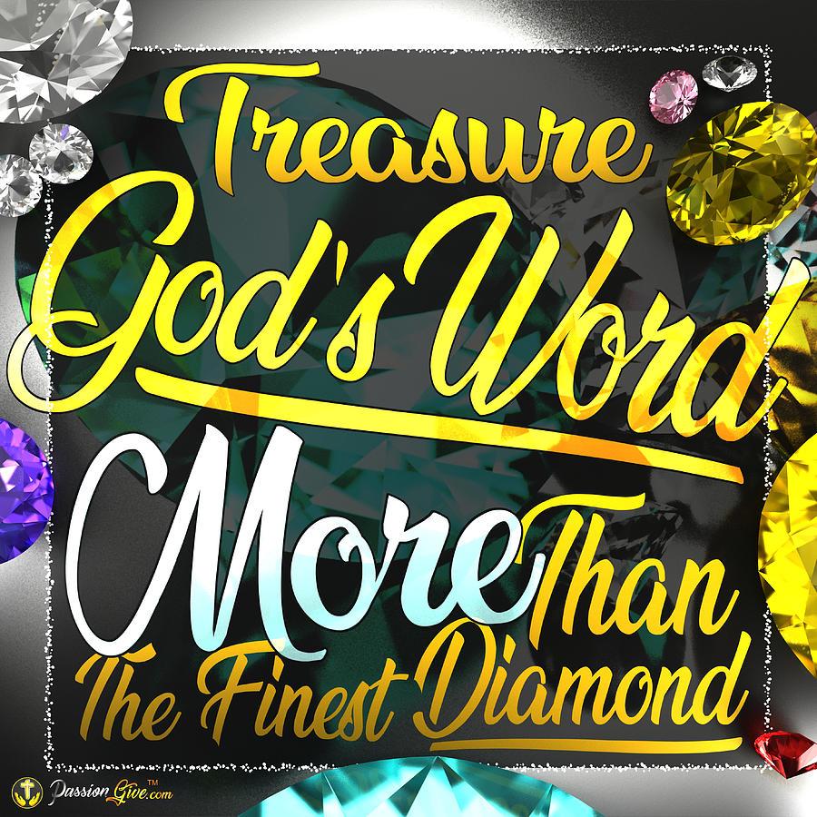Treasure God's Word by Passion Give