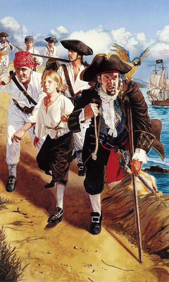 Treasure Island by Patrick Whelan