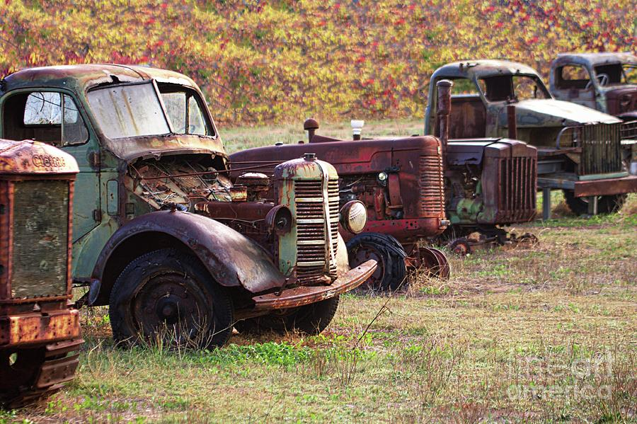 Treasure Trove - Vintage Cars by Carolyn Parker