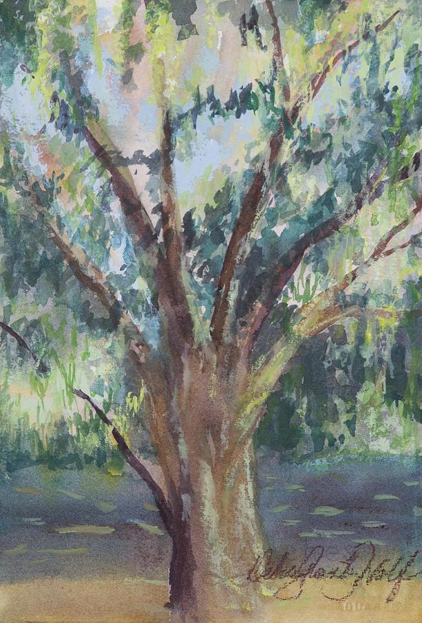 Oak One Painting by Debra Grantz Wolf