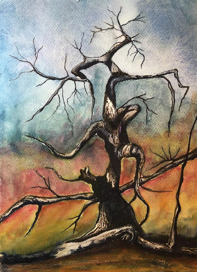 Tree 2 by Mary Rimmell