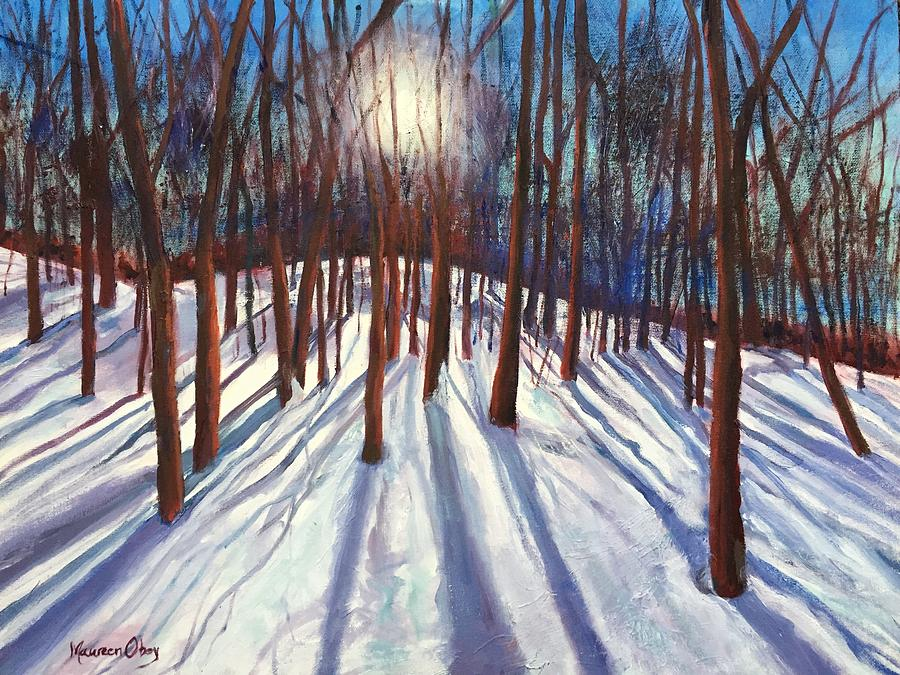 Tree Glow by Maureen Obey
