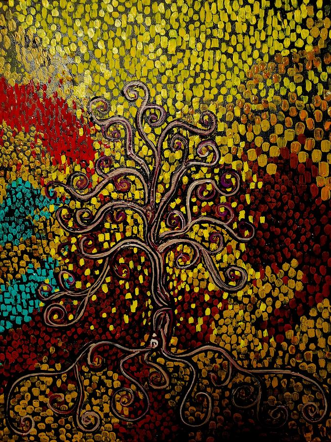 Tree In The Center Of Life by Stefan Duncan
