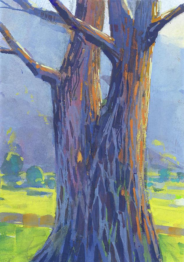 Trees Painting - Tree by Kristina Vardazaryan