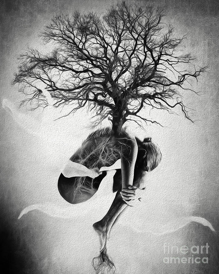 Shape Photograph - Tree Of Life by Erik Brede