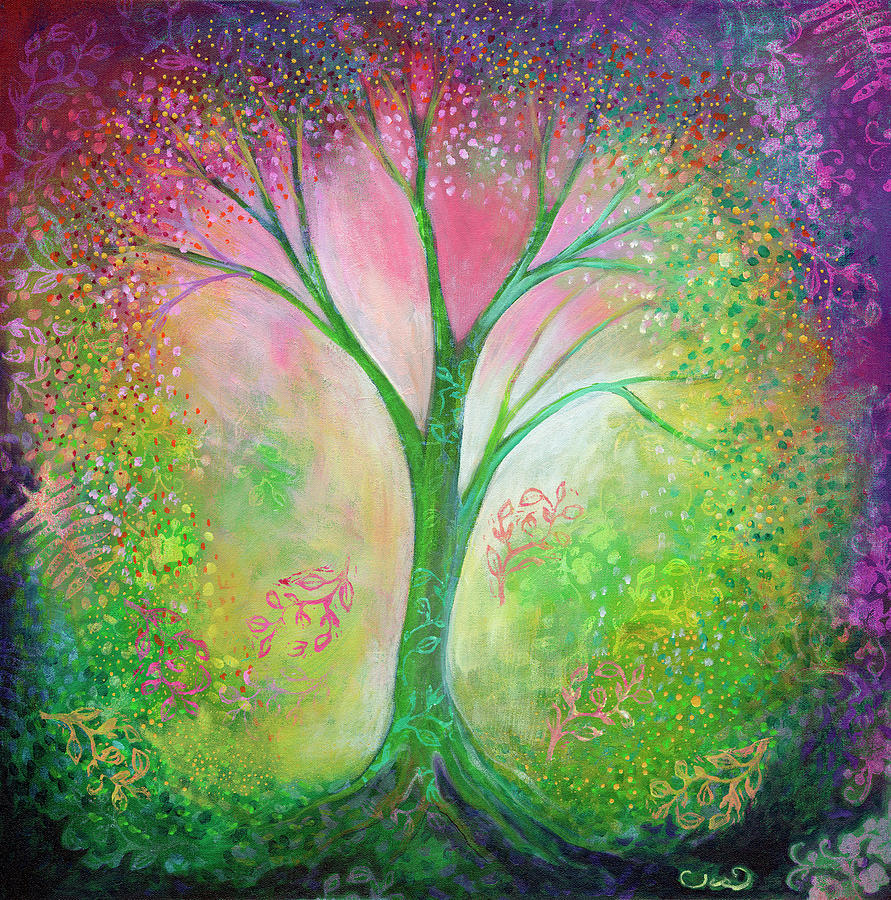 Tree Of Tranquility Painting