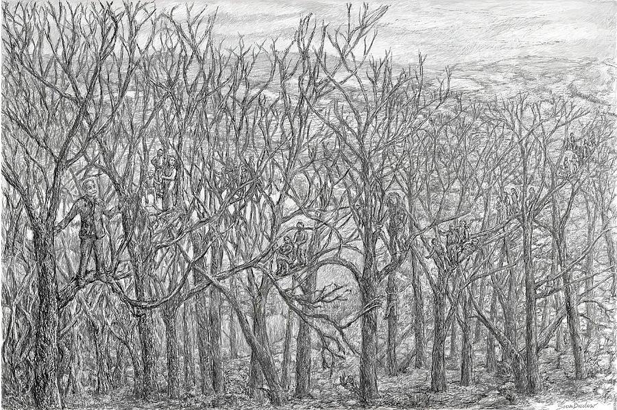 Tree People by Steve Breslow