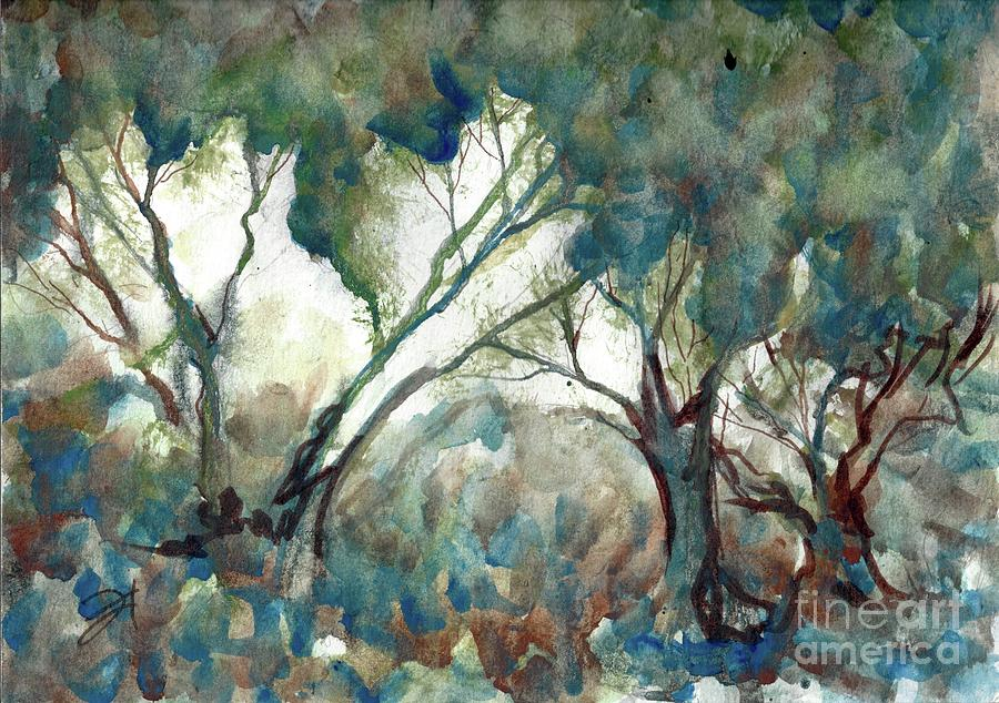 Tree Study by Francelle Theriot