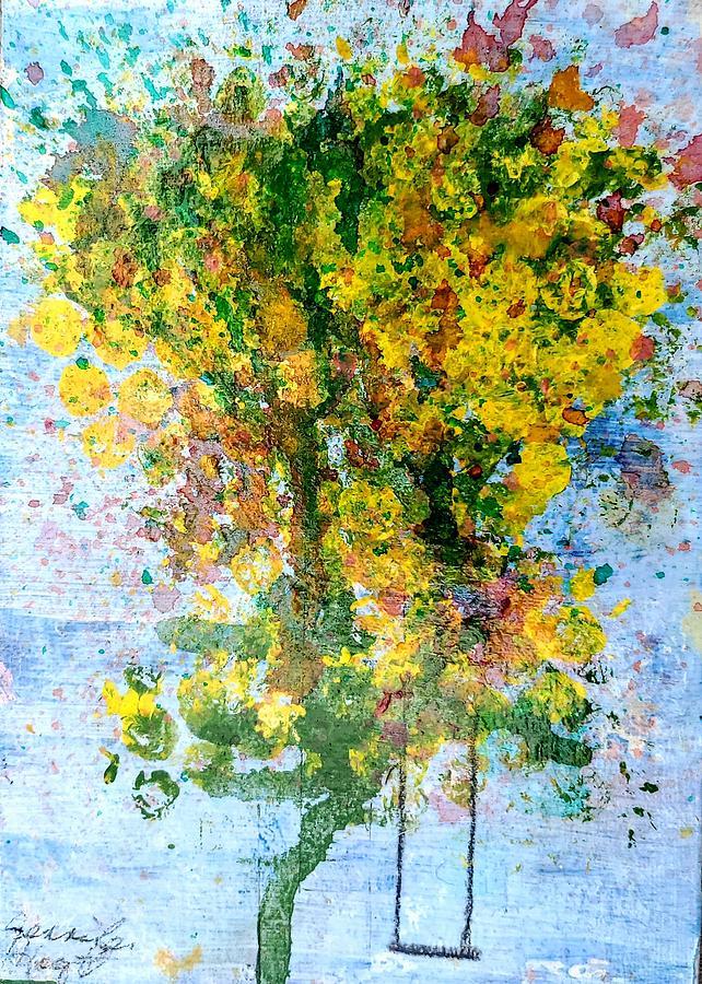 Tree Swing Painting
