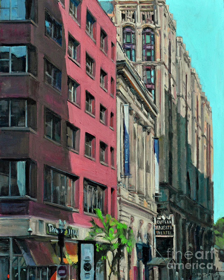 Tremont Street View by Deb Putnam