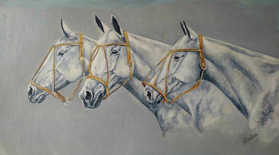 Tres Cabezas by Carlos Jose Barbieri