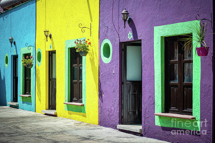 America Photograph - Tres Puertas by Inge Johnsson