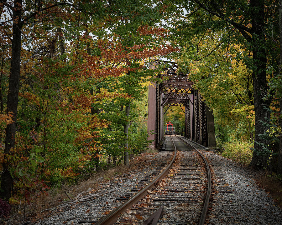 Trestle and Caboose horizontal by Hershey Art Images