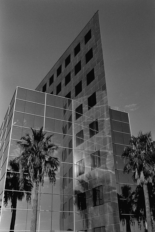 Film Photograph - Triangle Building In San Antonio by Edward Swearingen