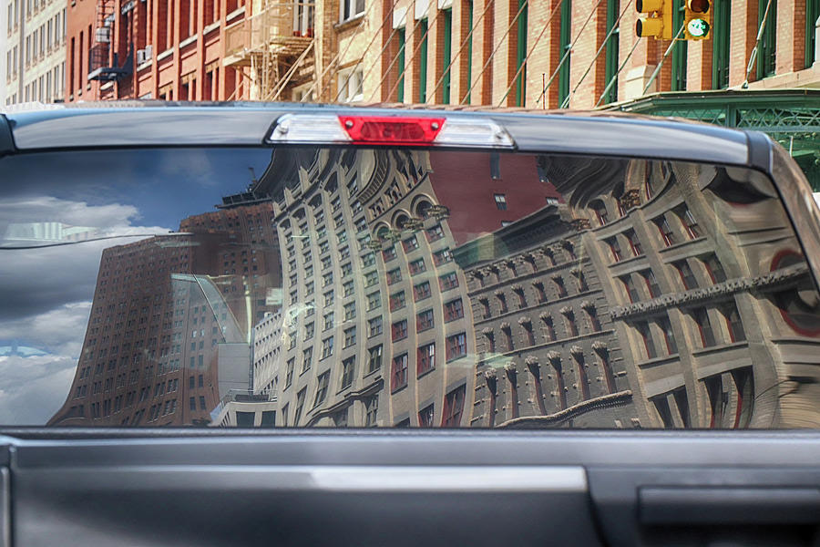 Tribeca in Reflection by Cate Franklyn