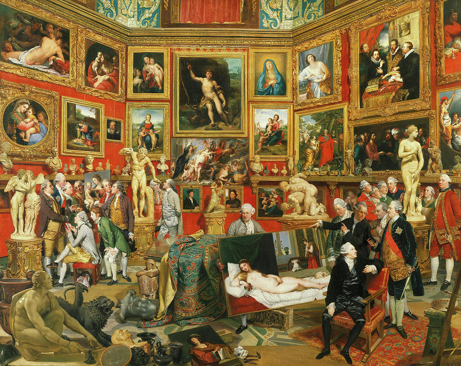 Zoffany Painting - Tribuna Of The Uffizi, 1777 by Johan Zoffany