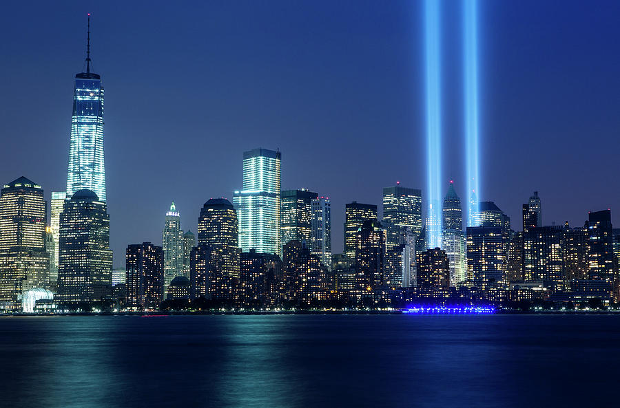 Tribute In Lights Photograph by Nathan Blaney