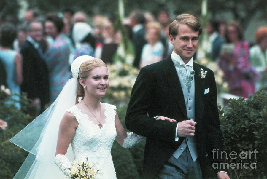 Tricia Nixon And Edward Cox Wedding Photograph by Bettmann