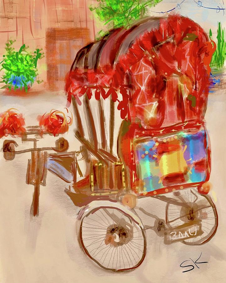 Tricycle Taxi   by Sherry Killam