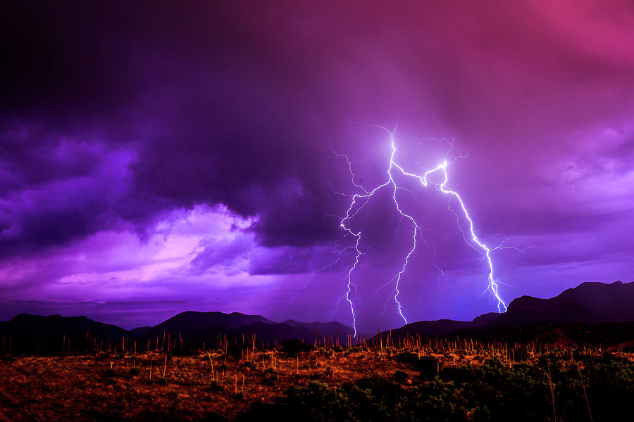 Trident Lightning by John Wilkinson