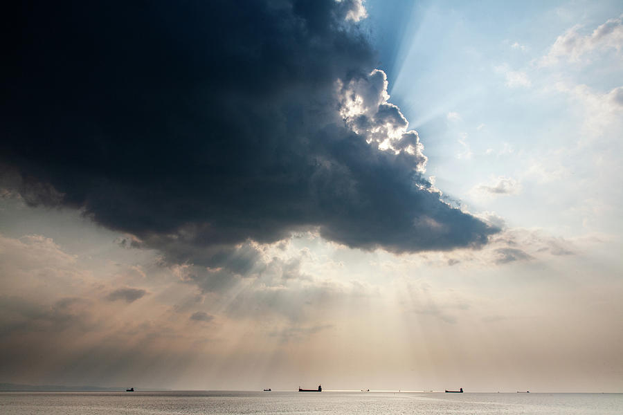 Trieste Bay by Ian Middleton
