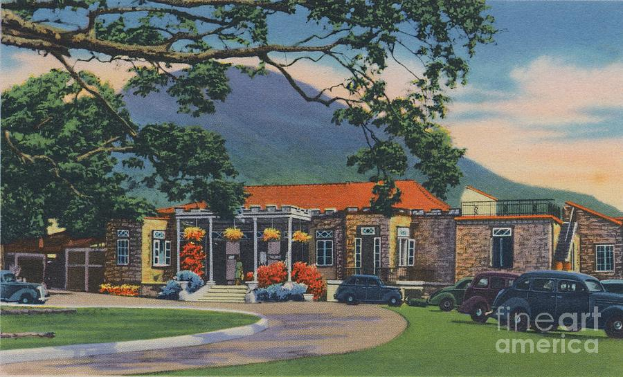 Trinidad Country Club Drawing by Print Collector