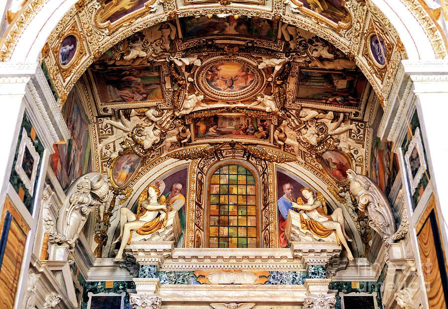Trinita dei Monti Architecture in Rome by John Rizzuto