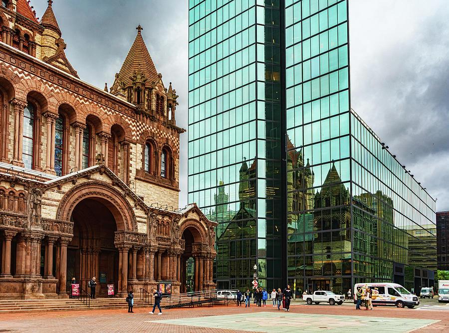 Trinity Church Reflections by Sharon Popek