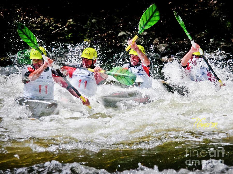 Triple Crown Kayak Race by Tom Cameron
