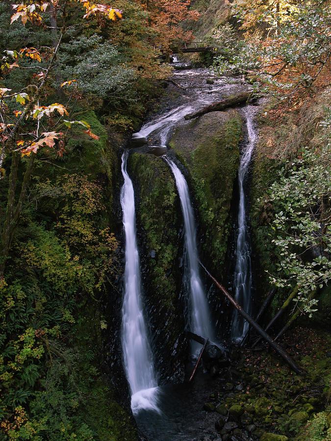 Triple Falls  by Steven Clark