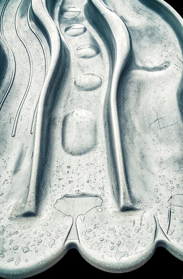 Triple Slide In Rain by Gary Slawsky
