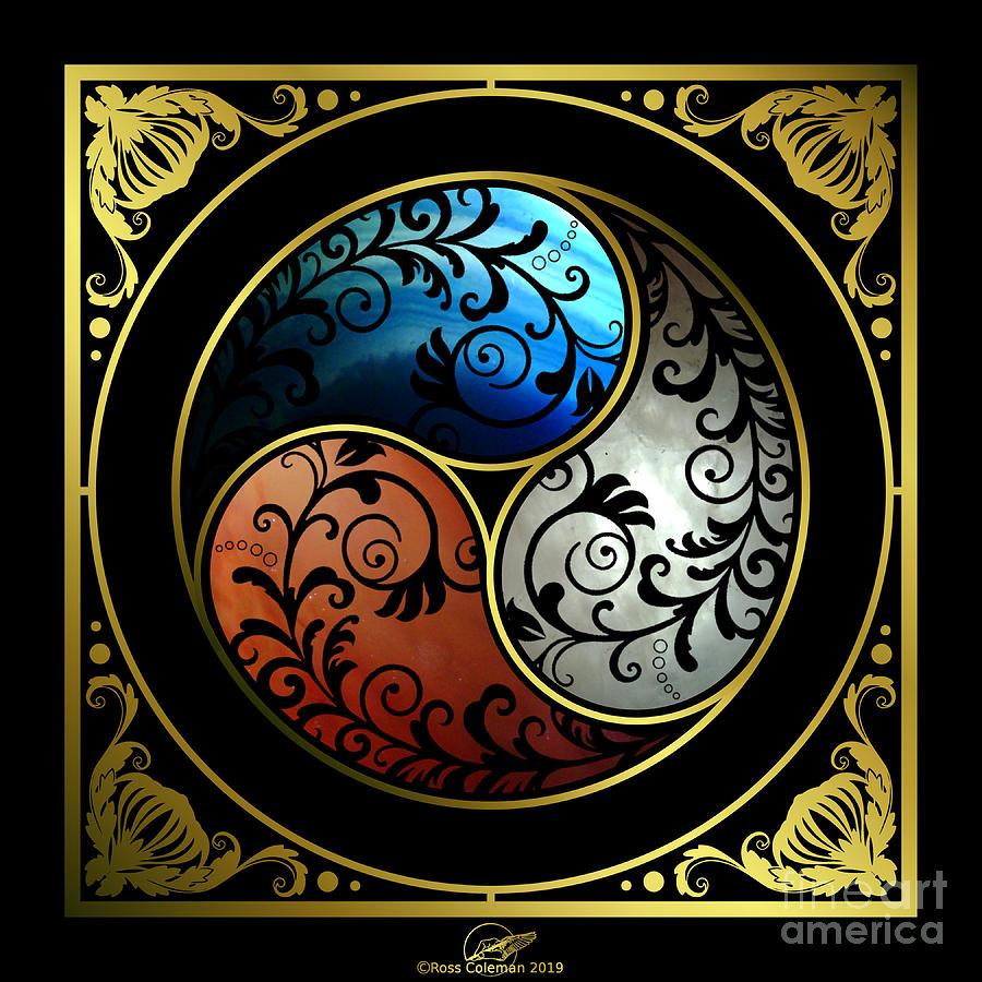 Triskel Digital Art by Ross Coleman