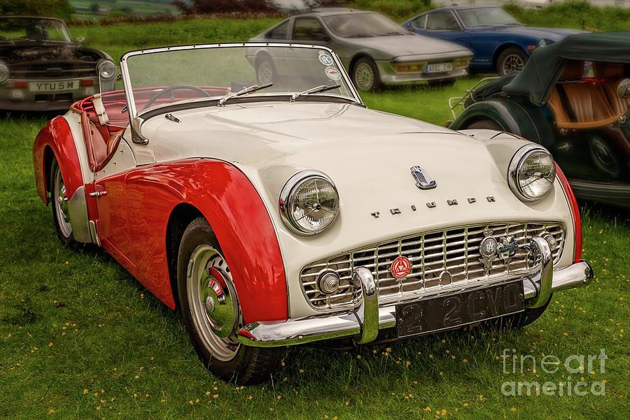 Triumph TR3 by Adrian Evans
