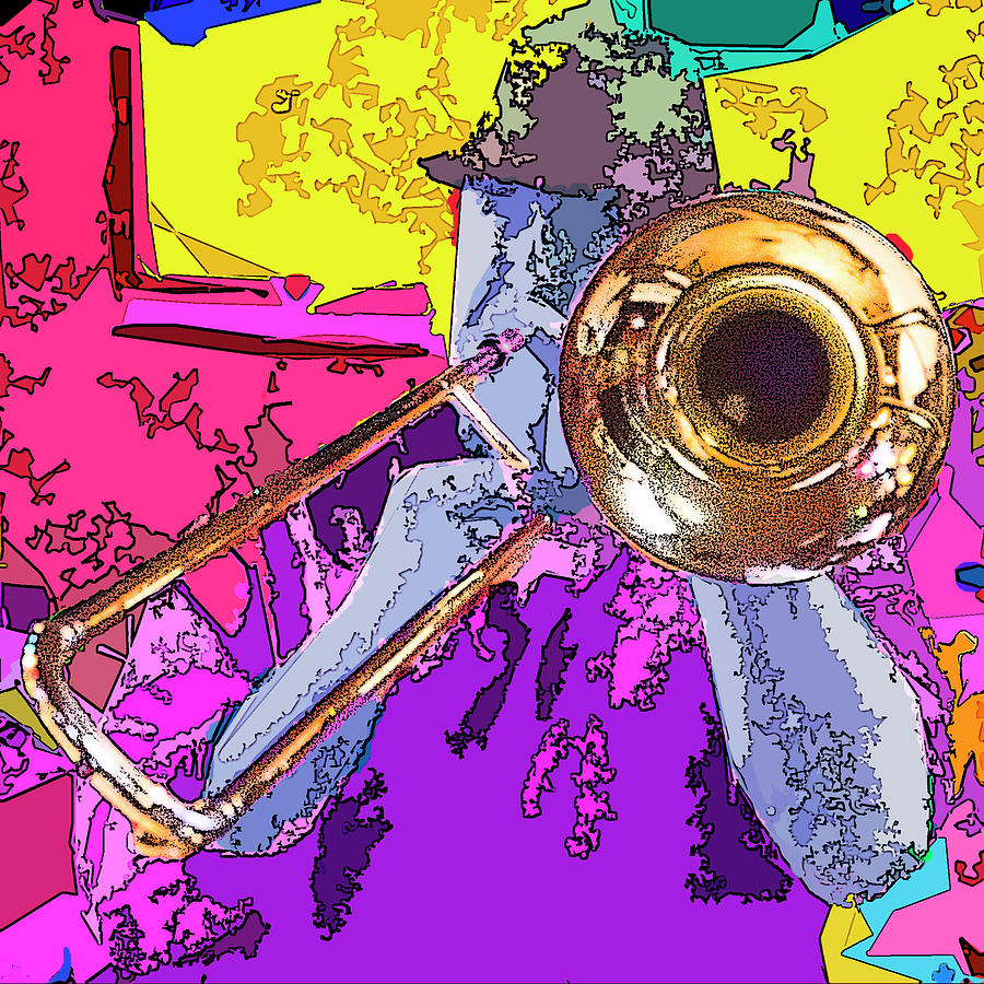 Trombone Player by Jessica Levant