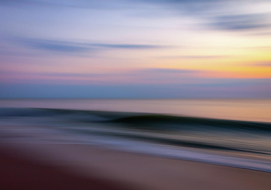 Tropic Ocean Wave Abstract by R Scott Duncan